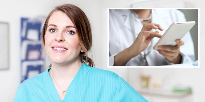 """Emma: """"Jag kan behålla sjuksköterskeprofessionen – och tjäna extra pengar"""""""